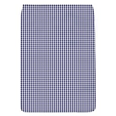 Usa Flag Blue And White Gingham Checked Flap Covers (s)  by PodArtist