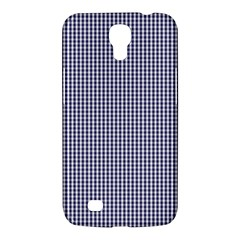 Usa Flag Blue And White Gingham Checked Samsung Galaxy Mega 6 3  I9200 Hardshell Case by PodArtist