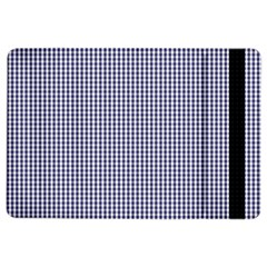 Usa Flag Blue And White Gingham Checked Ipad Air 2 Flip by PodArtist
