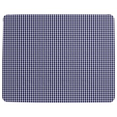 Usa Flag Blue And White Gingham Checked Jigsaw Puzzle Photo Stand (rectangular) by PodArtist