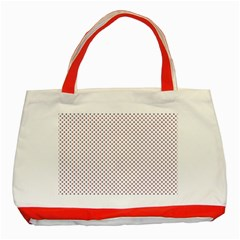 Usa Flag Red And Flag Blue Stars Classic Tote Bag (red) by PodArtist