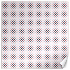 Usa Flag Red And Flag Blue Stars Canvas 20  X 20   by PodArtist