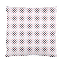 Usa Flag Red And Flag Blue Stars Standard Cushion Case (two Sides) by PodArtist