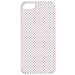 Usa Flag Red And Flag Blue Stars Apple Iphone 5 Classic Hardshell Case by PodArtist