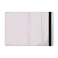 Usa Flag Red And Flag Blue Stars Apple Ipad Mini Flip Case by PodArtist