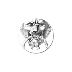 Steampunk Steam Punk Lion Door Golf Ball Marker (10 Pack)