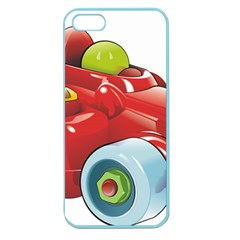 Car Vehicle Racing Car Formula Apple Seamless Iphone 5 Case (color) by Sapixe