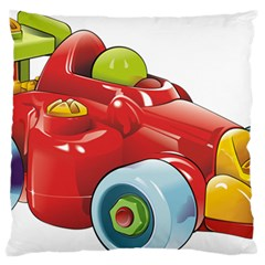 Car Vehicle Racing Car Formula Standard Flano Cushion Case (two Sides) by Sapixe