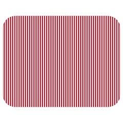 Usa Flag Red And White Stripes Full Print Lunch Bag by PodArtist