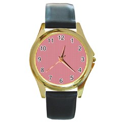 72244985 Round Gold Metal Watch by PodArtist