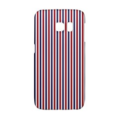 Usa Flag Red And Flag Blue Narrow Thin Stripes  Galaxy S6 Edge by PodArtist