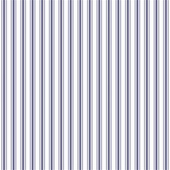Mattress Ticking Wide Striped Pattern In Usa Flag Blue And White Canvas 12  X 12   by PodArtist