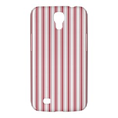 Mattress Ticking Wide Striped Pattern In Usa Flag Red And White Samsung Galaxy Mega 6 3  I9200 Hardshell Case by PodArtist