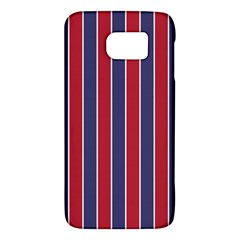 Large Red White And Blue Usa Memorial Day Holiday Pinstripe Galaxy S6 by PodArtist
