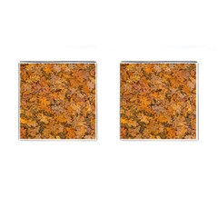 Leaves Motif Pattern Photo 2 Cufflinks (square)