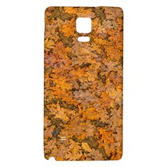 Leaves Motif Pattern Photo 2 Galaxy Note 4 Back Case