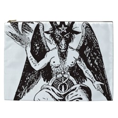 Devil Baphomet Occultism Cosmetic Bag (xxl)