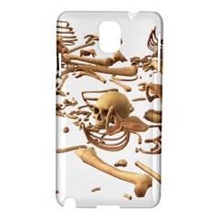 Skull Bone Skeleton Bones Samsung Galaxy Note 3 N9005 Hardshell Case by Sapixe