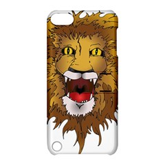 Lion Animal Roar Lion S Mane Comic Apple Ipod Touch 5 Hardshell Case With Stand