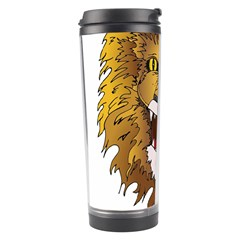 Lion Animal Roar Lion S Mane Comic Travel Tumbler by Sapixe