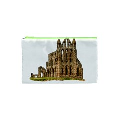 Ruin Monastery Abbey Gothic Whitby Cosmetic Bag (xs) by Sapixe