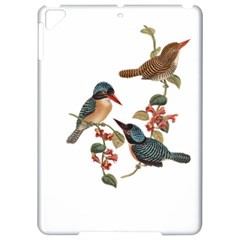 Bird Birds Branch Flowers Vintage Apple Ipad Pro 9 7   Hardshell Case by Sapixe