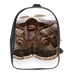 Night Butterfly Butterfly Giant School Bag (large)