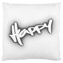 Lettering Points Creative Pen Dots Standard Flano Cushion Case (two Sides) by Sapixe