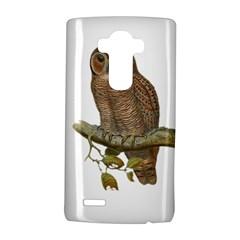 Bird Owl Animal Vintage Isolated Lg G4 Hardshell Case
