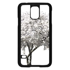 Nature Tree Blossom Bloom Cherry Samsung Galaxy S5 Case (black)