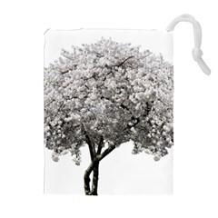 Nature Tree Blossom Bloom Cherry Drawstring Pouches (extra Large) by Sapixe