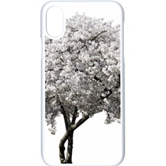 Nature Tree Blossom Bloom Cherry Apple Iphone X Seamless Case (white)