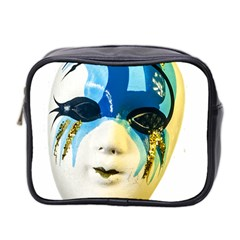 Porcelain Mask Minature Mask Mini Toiletries Bag 2 Side