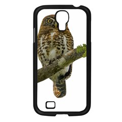 Owl Bird Samsung Galaxy S4 I9500/ I9505 Case (black)