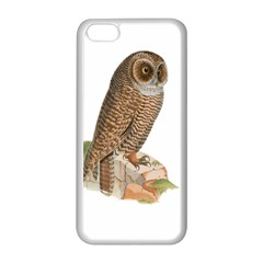 Bird Owl Animal Vintage Isolated Apple Iphone 5c Seamless Case (white) by Sapixe