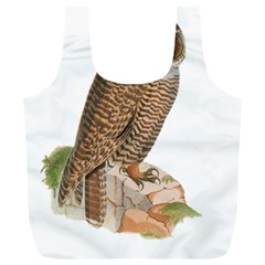 Bird Owl Animal Vintage Isolated Full Print Recycle Bags (l)  by Sapixe