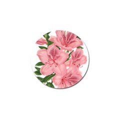 Flower Plant Blossom Bloom Vintage Golf Ball Marker (4 Pack) by Sapixe