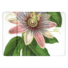 Passion Flower Flower Plant Blossom Samsung Galaxy Tab 8 9  P7300 Flip Case by Sapixe