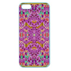 Fantasy Flower Festoon Garland Of Calm Apple Seamless Iphone 5 Case (color)