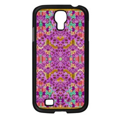 Fantasy Flower Festoon Garland Of Calm Samsung Galaxy S4 I9500/ I9505 Case (black) by pepitasart