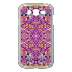 Fantasy Flower Festoon Garland Of Calm Samsung Galaxy Grand Duos I9082 Case (white) by pepitasart