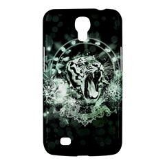 Awesome Tiger In Green And Black Samsung Galaxy Mega 6 3  I9200 Hardshell Case by FantasyWorld7