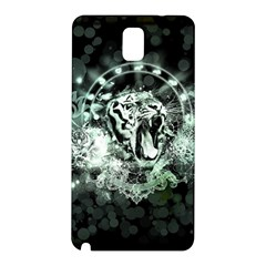 Awesome Tiger In Green And Black Samsung Galaxy Note 3 N9005 Hardshell Back Case