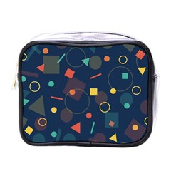 Background Backdrop Geometric Mini Toiletries Bags