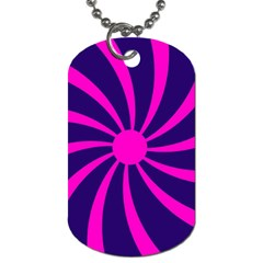Illustration Abstract Wallpaper Dog Tag (one Side) by Sapixe