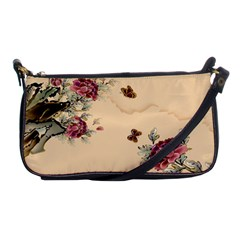Flower Traditional Chinese Painting Shoulder Clutch Bags