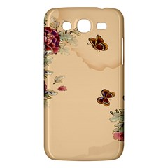 Flower Traditional Chinese Painting Samsung Galaxy Mega 5 8 I9152 Hardshell Case