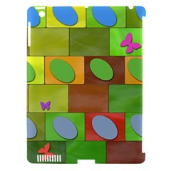 Easter Egg Happy Easter Colorful Apple Ipad 3/4 Hardshell Case (compatible With Smart Cover) by Sapixe