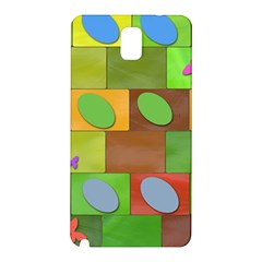 Easter Egg Happy Easter Colorful Samsung Galaxy Note 3 N9005 Hardshell Back Case