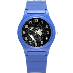 Technoid Future Robot Science Round Plastic Sport Watch (s) by Sapixe